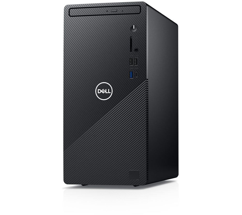 Image of DELL Inspiron 3881 Desktop PC - Intel®Core™ i3, 1 TB HDD, Black, Black