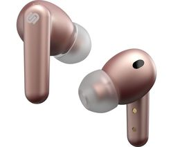 London Wireless Bluetooth Noise-Cancelling Earphones - Rose Gold