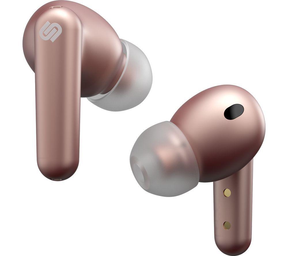 URBANISTA London Wireless Bluetooth Noise-Cancelling Earphones - Rose Gold