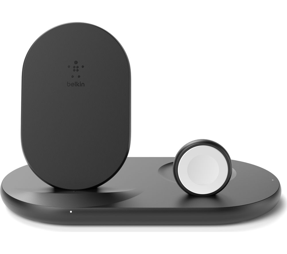 BELKIN WIZ001myBK 3-in-1 Apple Wireless Charger