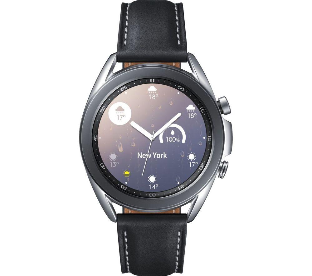 SAMSUNG Galaxy Watch3 - Mystic Silver, 41 mm