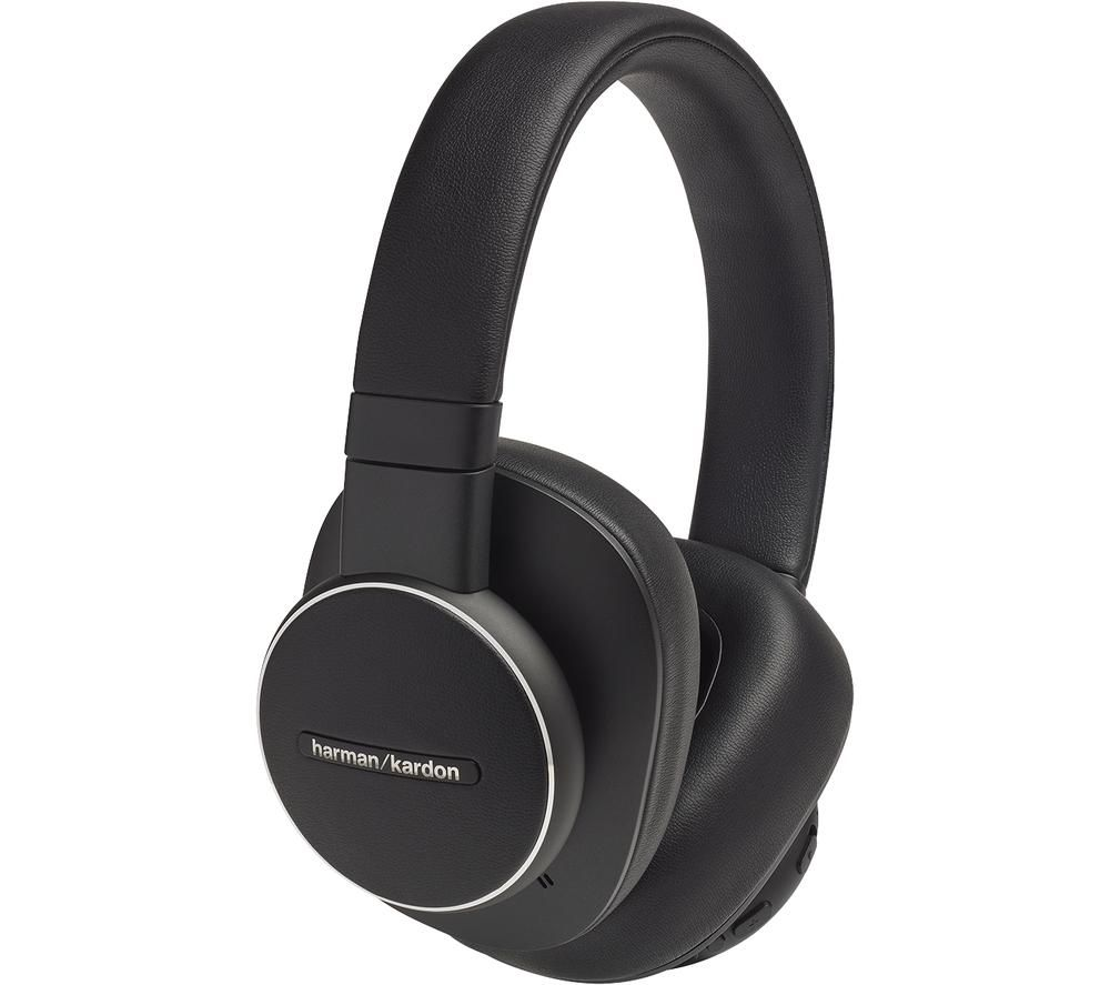 HARMAN KARDON Fly ANC HKFLYANCBLK Wireless Bluetooth Noise-Cancelling Headphones - Black