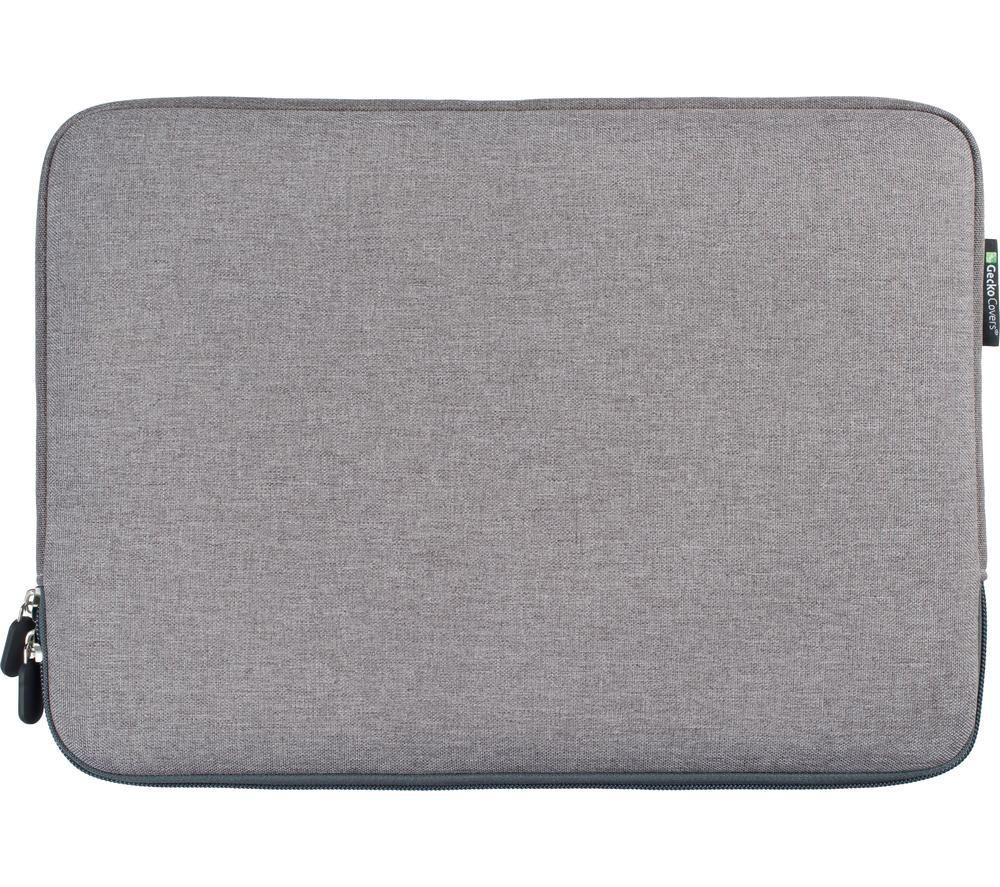 "GECKO COVERS Universal ZSL13C11 13"" Laptop Sleeve - Grey, Grey"