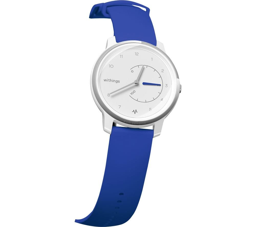 WITHINGS Move ECG Activity Tracker - Blue & White