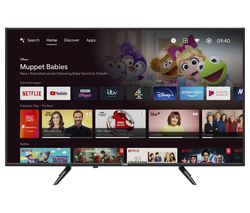 """L43AUE21 Android TV 43"""" Smart 4K Ultra HD HDR LED TV with Google Assistant"""
