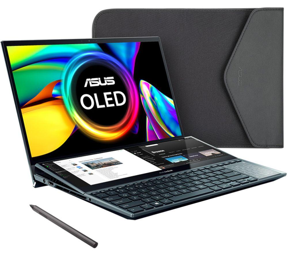 "Image of ASUS ZenBook Pro Duo UX581 15.6"" Laptop - Intel®Core i9, 1 TB SSD, Blue, Blue"