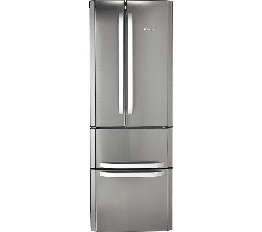 HOTPOINT FFU4D X 1 Fridge Freezer - Inox