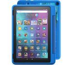 £199.99, AMAZON Fire HD 10inch Kids Pro Tablet (2021) - 32 GB, Intergalactic, Fire OS 7, Full HD screen, 32GB storage: Perfect for apps / photos / videos, Battery life: Up to 12 hours, Add more storage with a microSD card,