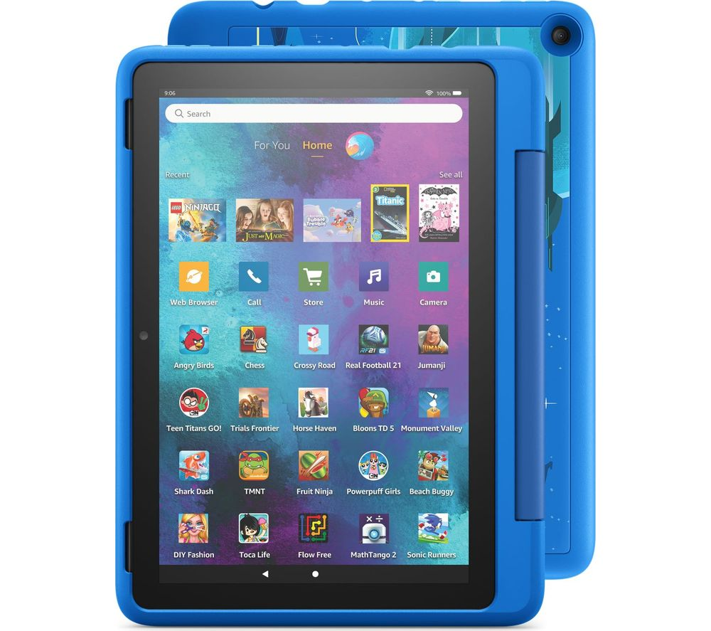 "AMAZON Fire HD 10"" Kids Pro Tablet (2021) - 32 GB, Intergalactic"