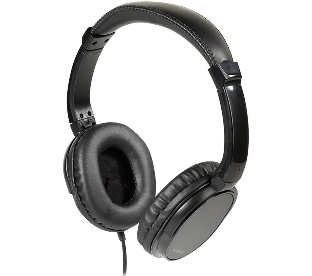 VIVANCO TV Comfort 70 Headphones - Black