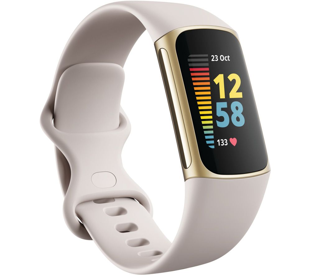 FITBIT Charge 5 Fitness Tracker - Soft Gold, Universal