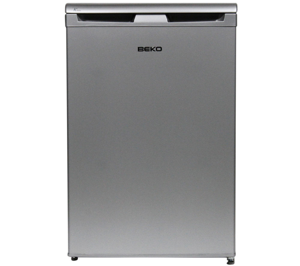 BEKO FXS5043S Undercounter Freezer - Silver + Select DSX83410W Heat Pump Tumble Dryer - White