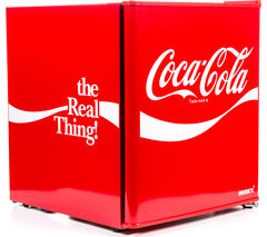HUSKY Coca Cola HUS-EL207-HU Mini Fridge - Red