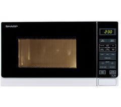 R272WM Solo Microwave - White