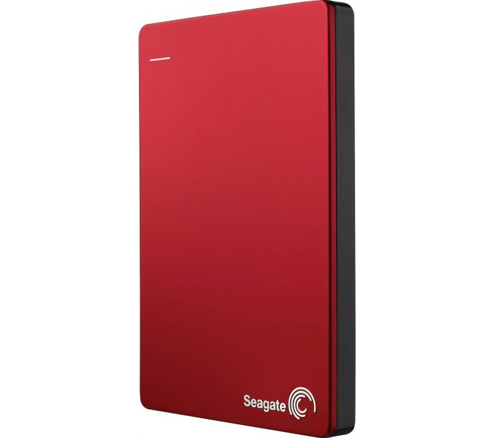 SEAGATE  Backup Plus Portable Hard Drive - 2 TB, Red, Red