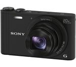 SONY Cyber-shot DSC-WX350B Superzoom Compact Camera - Black
