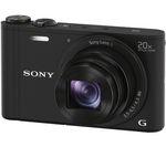 SONY Cyber-shot DSC-WX350B Superzoom Compact Camera - Black