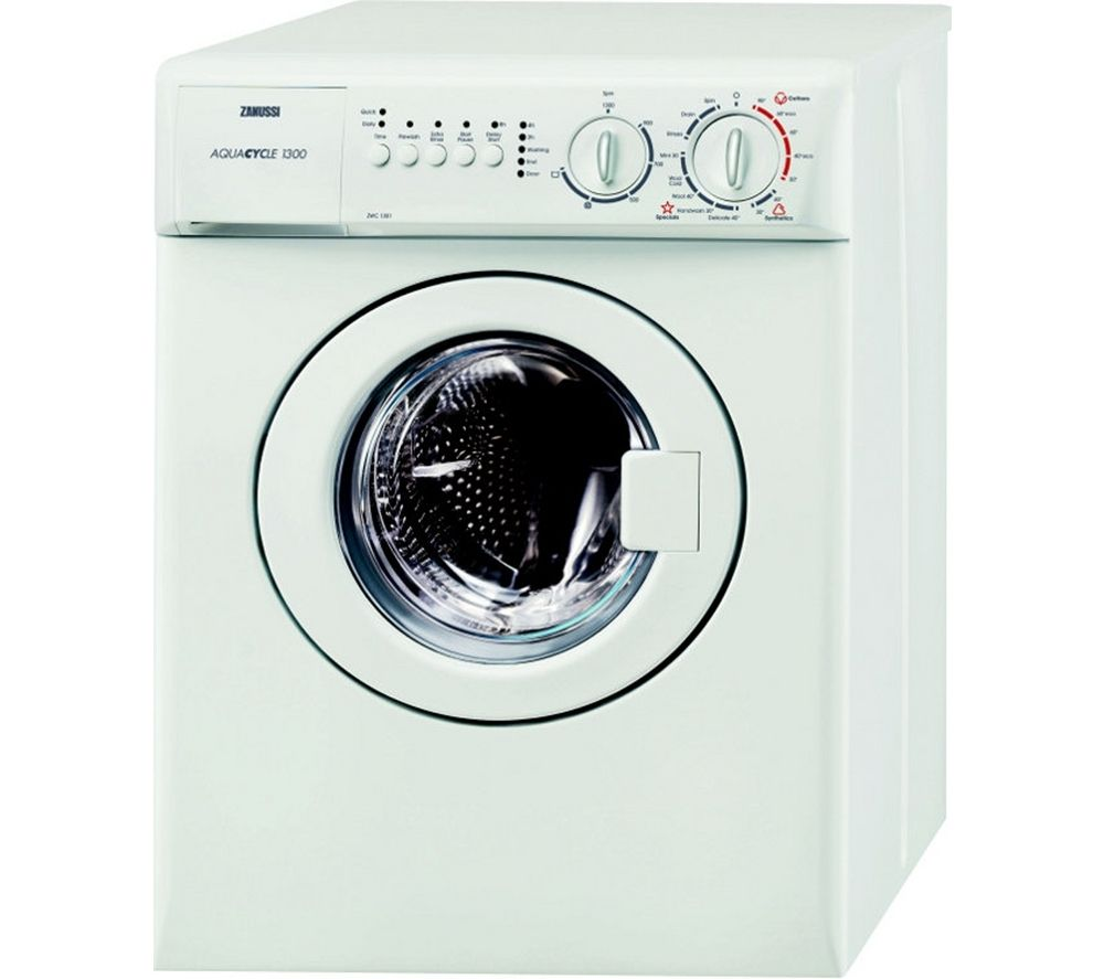 ZANUSSI ZWC1301 Washing Machine – White, White