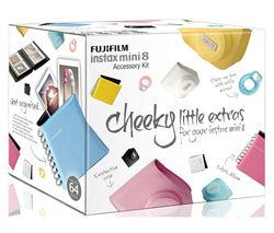 FUJIFILM Instax Mini8 Accessory Kit - Yellow