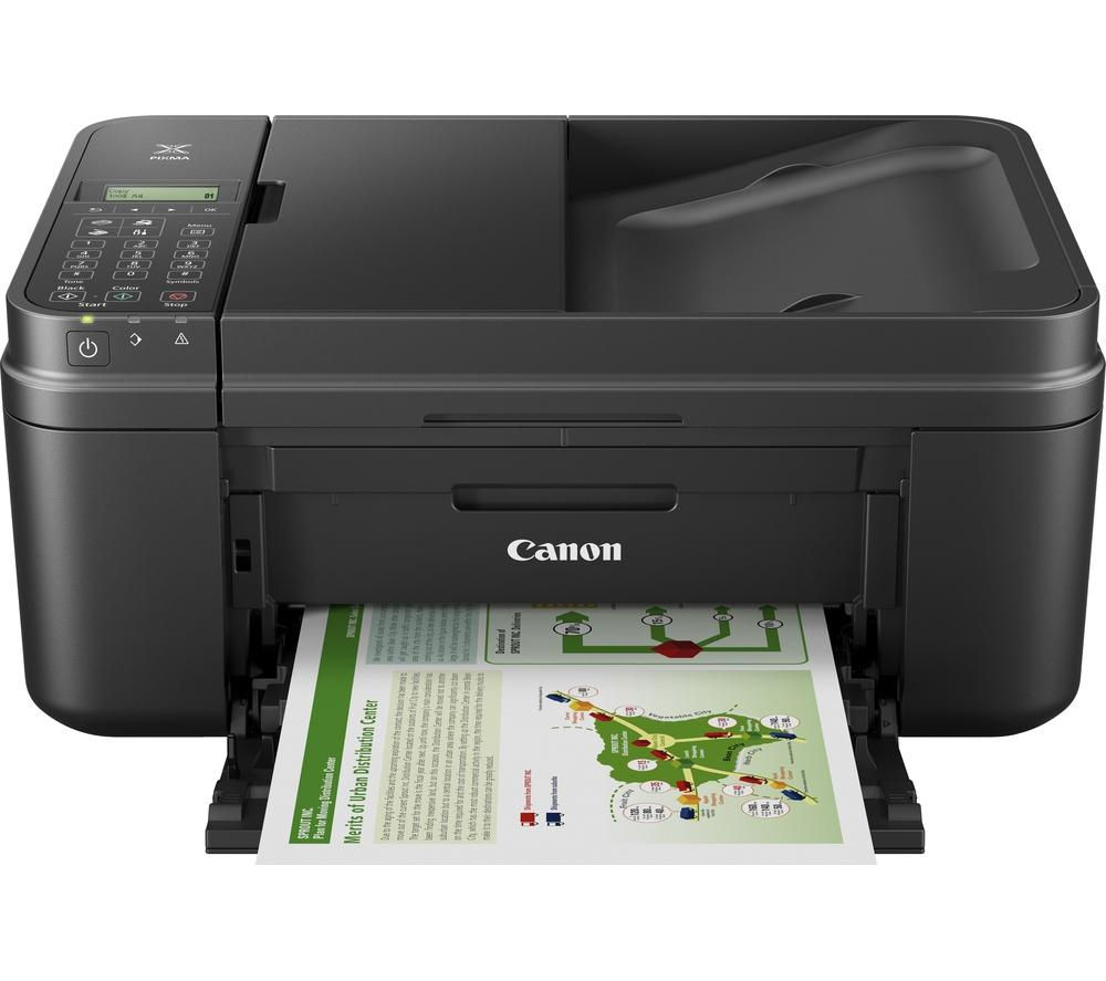 CANON PIXMA MX495 All-in-One Wireless Inkjet Printer with Fax - Black + PG-545/CL-546 Tri-colour & Black Ink Cartridges - Twin Pack
