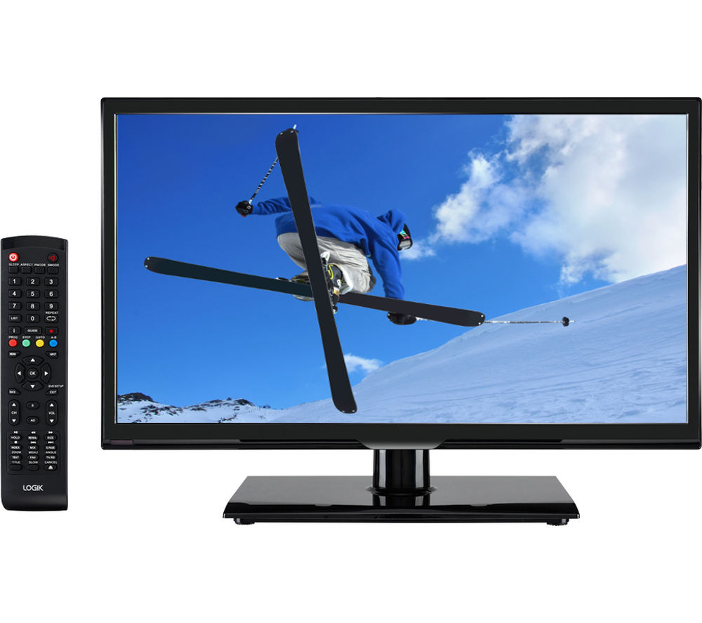 "LOGIK L20HE15 20"" LED TV + LFMSKS16 Full Motion TV Bracket Starter Kit"