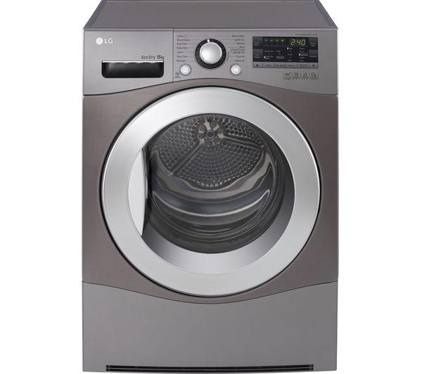 Tumble Dryer Temperature ~ Buy lg rc eh m heat pump tumble dryer steel free