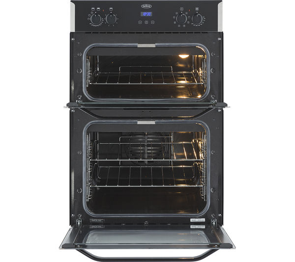 buy belling bi90efr electric double oven stainless steel free rh currys co uk Belling Dual Ovens 1999 Belling Induction Range
