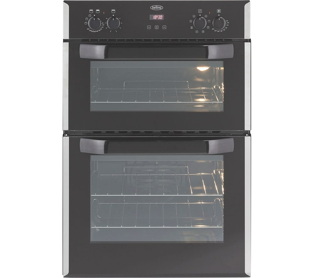 BELLING Bi90EFR Electric Double Oven - Stainless Steel