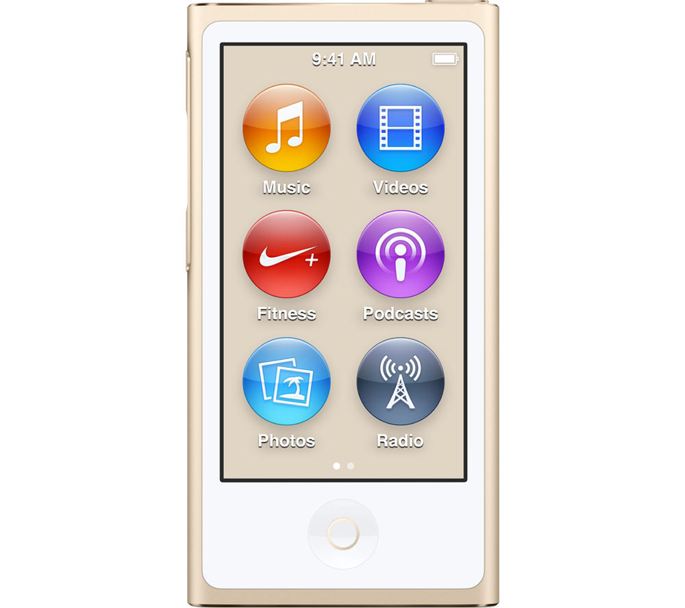 apple ipod nano 16 gb 7th generation gold deals pc world. Black Bedroom Furniture Sets. Home Design Ideas
