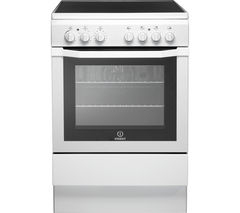 INDESIT I6VV2AW 60 cm Electric Ceramic Cooker - White Best Price, Cheapest Prices