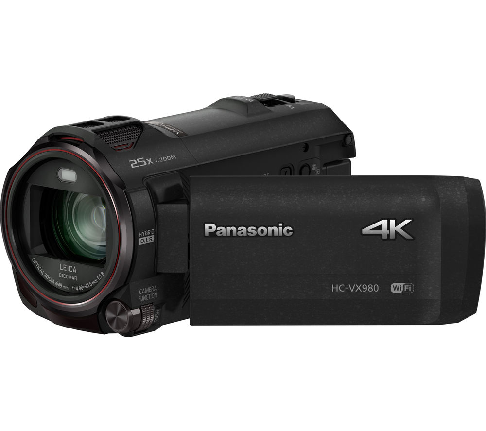 PANASONIC HC-VX980EB-K 4K Ultra HD Camcorder - Black