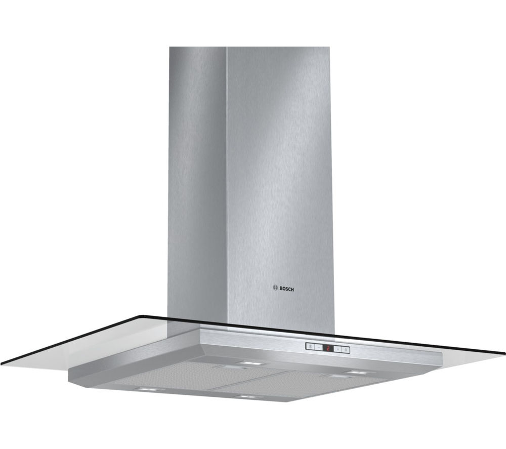 BOSCH Serie 6 DIA098E50B Chimney Cooker Hood - Stainless Steel