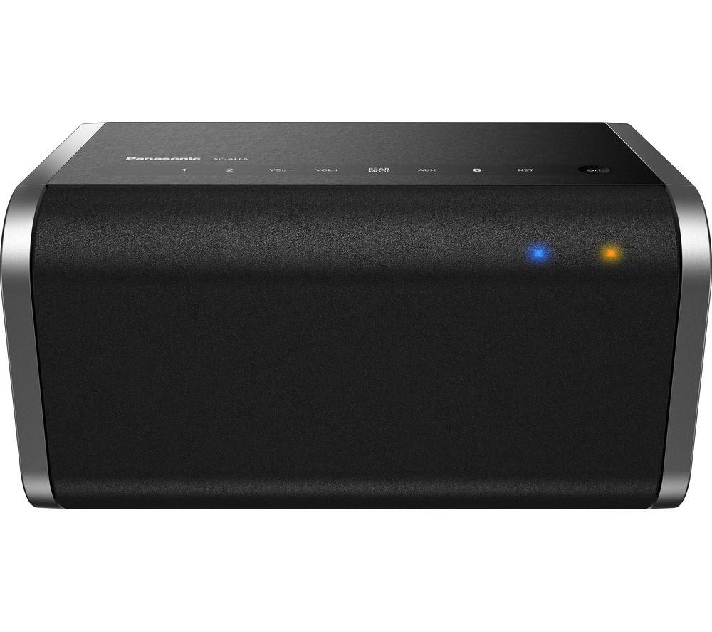 PANASONIC SC-ALL6EB-K Wireless Smart Sound Multi-Room Speaker - Black