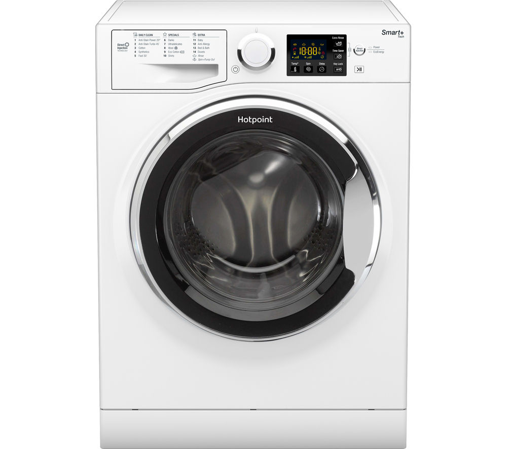 HOTPOINT Smart+ RSG 964 JX Washing Machine – White