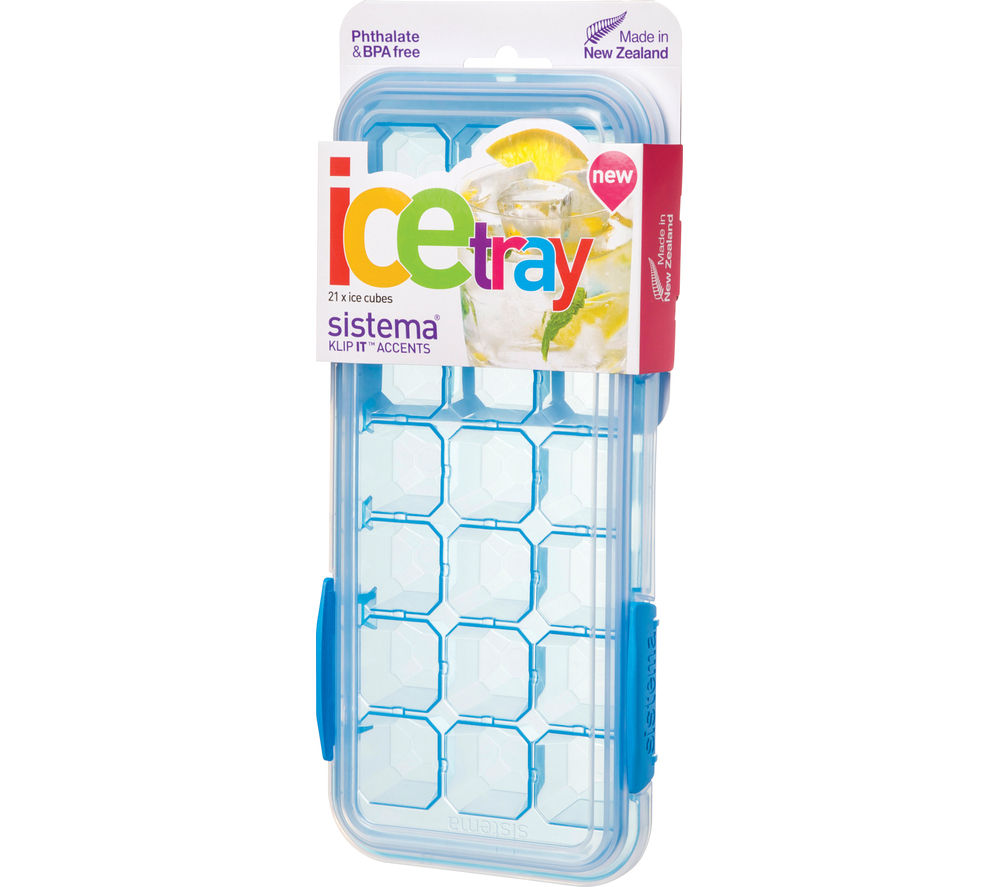 SISTEMA Large Accents Ice Tray - Blue