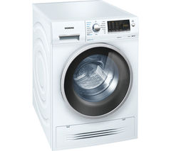 SIEMENS WD14H421GB Washer Dryer - White