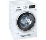 SIEMENS WD14H421GB Washer Dryer - White