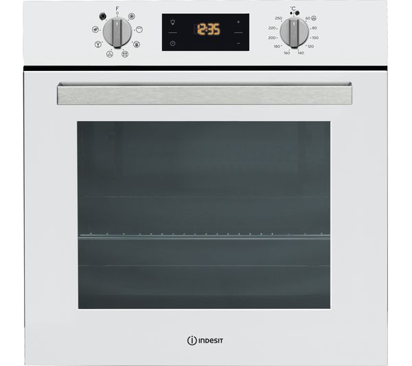 Image of INDESIT Aria IFW 6340 WHElectric Oven - White