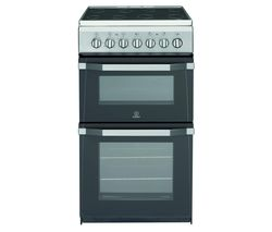 INDESIT IT50C1 S 50 cm Electric Cooker - Silver