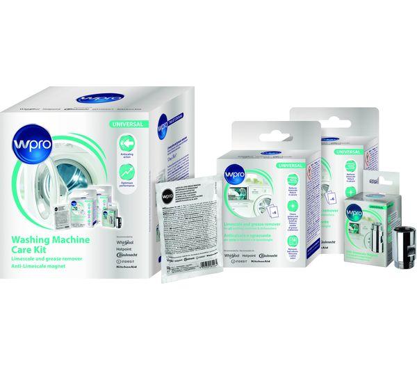 Image of WPRO Washing Machine Care Kit