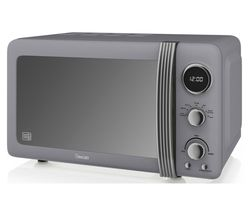 SWAN Retro SM22030GRN Solo Microwave - Grey Best Price, Cheapest Prices