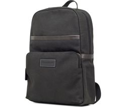"DBRAMANTE GO Svendborg 16"" Leather Laptop Backpack - Black"