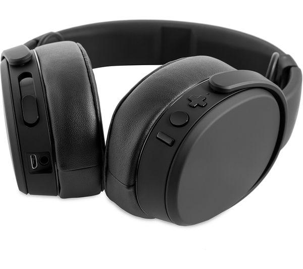 SKULLCANDY Crusher S6CRW-K591 Wireless Bluetooth Headphones - Black