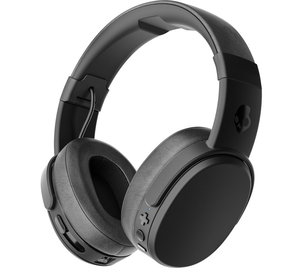 SKULLCANDY Crusher S6CRW-K591 Wireless Bluetooth Headphones - Black