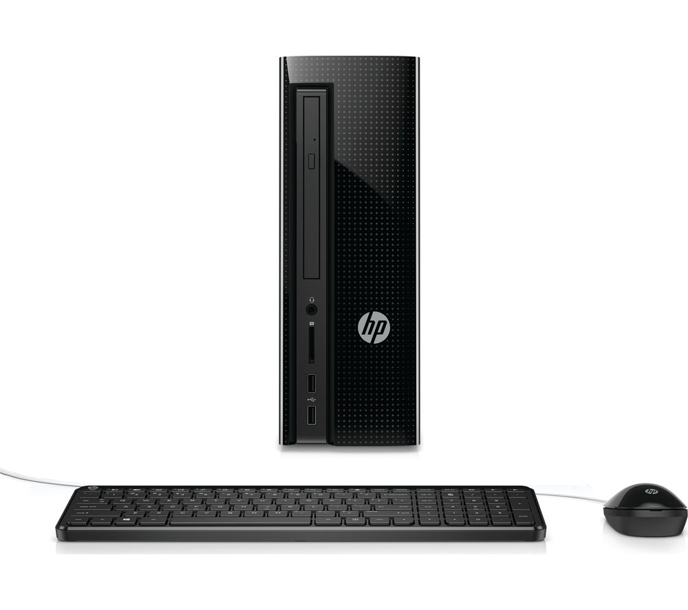 HP Slimline 260-a180na Desktop PC + Office 365 Personal - 1 year for 1 user + LiveSafe Premium - 1 user / unlimited devices for 1 year