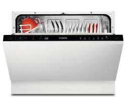 AEG F55210VI0 Compact Integrated Dishwasher