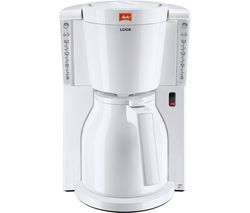 MELITTA Look IV Therm Filter Coffee Machine - White