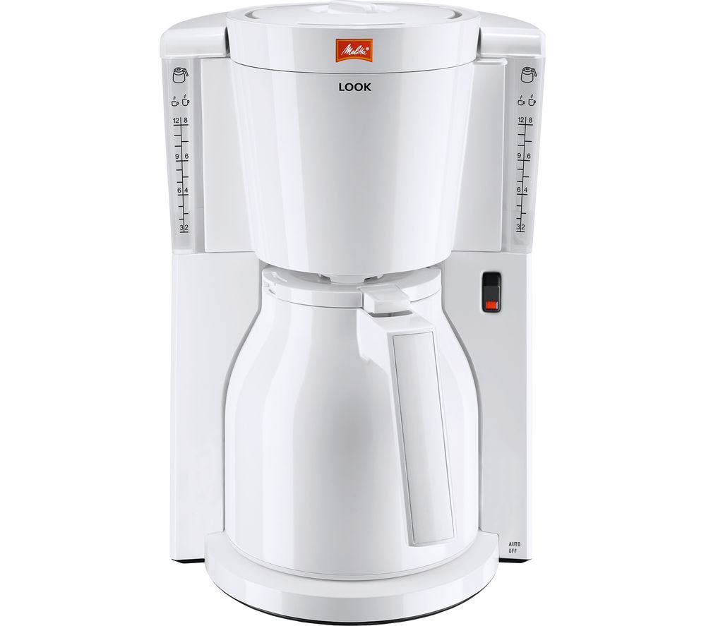 163 45 Melitta Look Iv Therm Filter Coffee Machine White