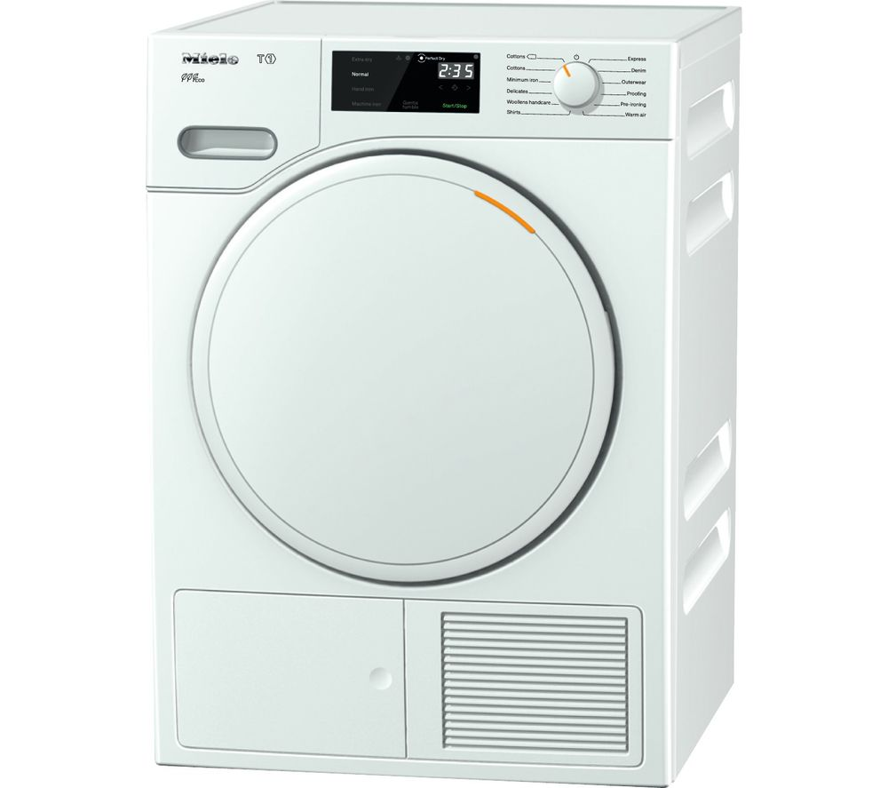 MIELE Eco TWE620WP Heat Pump Tumble Dryer - White