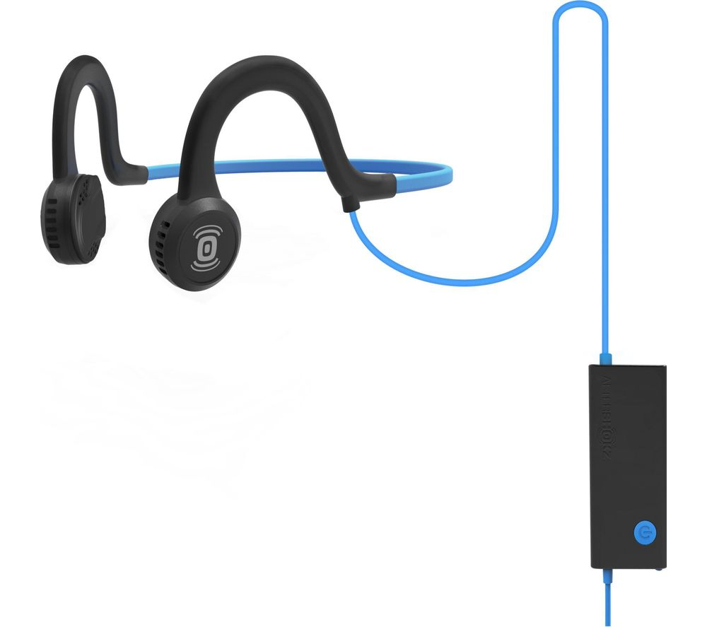 AFTERSHOKZ Sportz Titanium Noise-Cancelling Headphones - Blue
